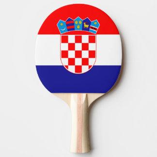 De Kroatische peddel van de vlagpingpong voor Tafeltennis Bat
