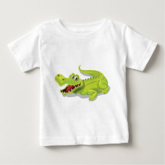 De Krokodil van de cartoon Baby T Shirts