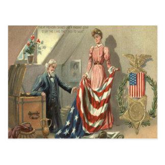 De Kroon van Eagle van de Medaille van de Briefkaart