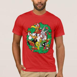 De Kroon van Kerstmis van de Groep LOONEY TUNES™ T Shirt