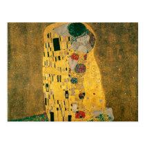 De kus - Gustav Klimt Wenskaarten