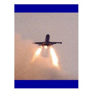 De Lancering van Falconet Briefkaart