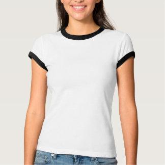 De Lasser die van de vrouw is benieuwd, steunt van T Shirt