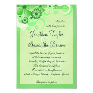 De lichte Uitnodigingen van het Huwelijk van de