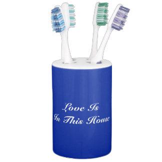 De liefde is in Deze Houder van de Tandenborstel Tandenborstelhouder