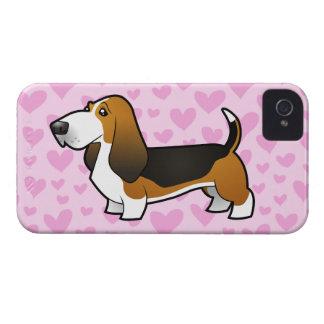 De Liefde van Basset Hound iPhone 4 Hoesje