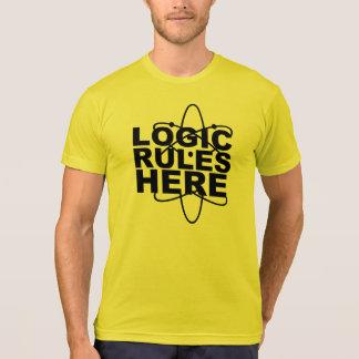 De LOGIQUE de RÈGLES la Science ICI a inspiré l'EE T-shirt
