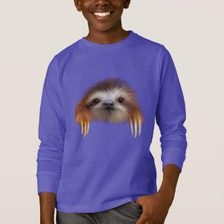De Luiaard van het baby T Shirt