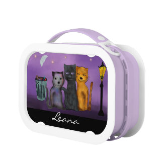 De Maan van de Katten van de steeg Lunchbox