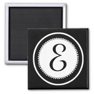 De Magneten van het Huwelijk van het monogram