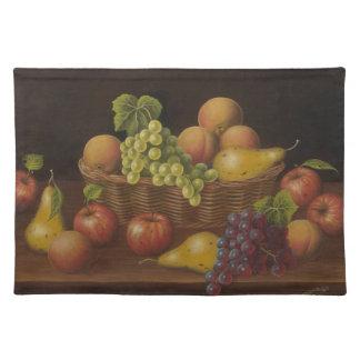 De Mand van het fruit Placemat