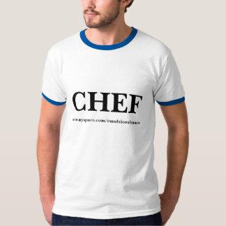 De mannen T-shirt van de Chef-kok van de jaren '80
