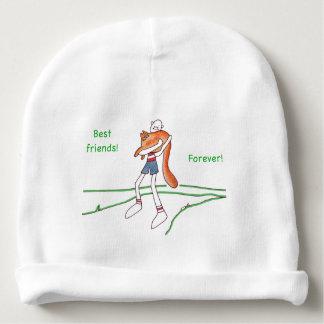 De meilleurs amis casquette de calotte de bébé bonnet pour bébé