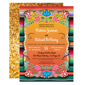 De Mexicaanse Deken van het Huwelijk en Gouden Kaart