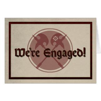 De middeleeuwse Aankondiging van het Huwelijk met