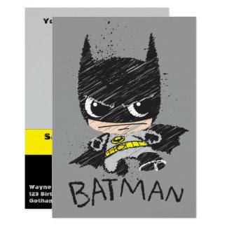 De mini Klassieke Schets van Batman Kaart