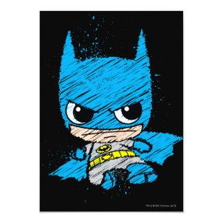 De mini Schets van Batman 12,7x17,8 Uitnodiging Kaart