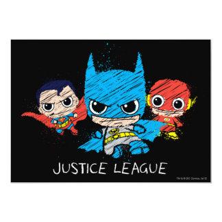 De mini Schets van de Liga van de Rechtvaardigheid Kaart