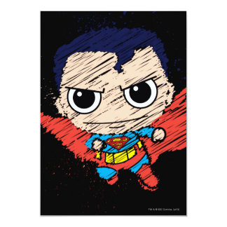 De mini Schets van de Superman Kaart