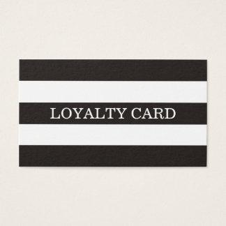 De minimalistische Eenvoudige Zwarte Witte Kaart Visitekaartjes