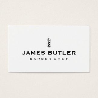 De minimalistische Winkel van de Kapper Visitekaartjes