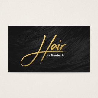 De moderne benoeming van het herenkapper elegante visitekaartjes