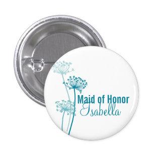 De moderne knoop van de het huwelijksspeld van het ronde button 3,2 cm