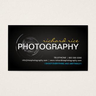 De moderne Visitekaartjes van de Fotograaf