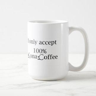 De Mok van de Koffie van Kona - ik keur slechts de