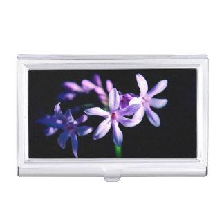 De mooie Bloem van de Lavendel Visitekaarthouder