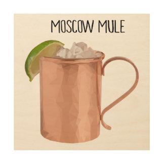 De Moscou de mule d'en cuivre de tasse poly art