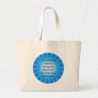 De motivation encouragez la citation inspirée sac en toile jumbo