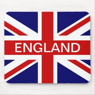 De muisstootkussen van Engeland met Britse Union Muismatten