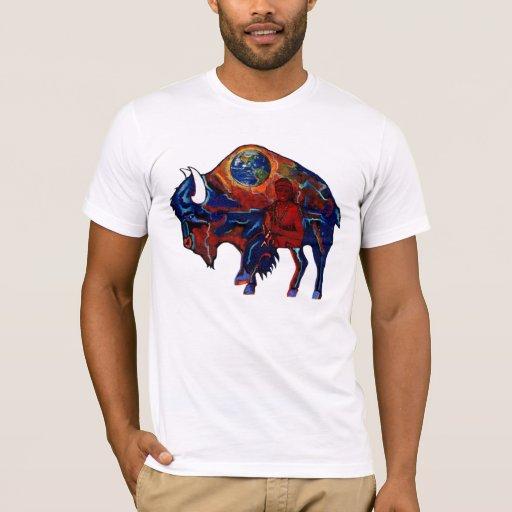 De Mysticus van buffels Shirts