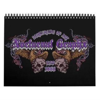 De nachtelijke Kalender van Graphx 2013