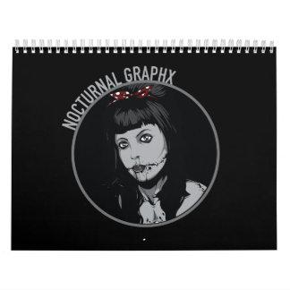 De nachtelijke Kalender van Graphx 2016