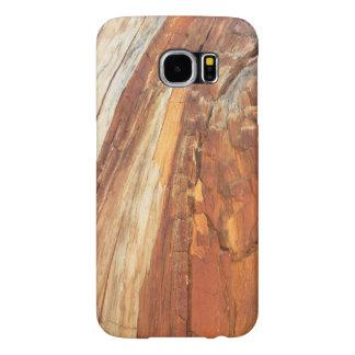 De natuurlijke Houten Korrel van de Ceder Samsung Galaxy S6 Hoesje