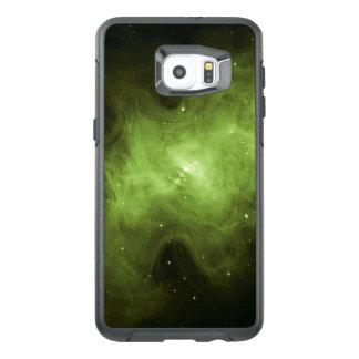 De Nevel van de krab, het Overblijvende, Groene OtterBox Samsung Galaxy S6 Edge Plus Hoesje