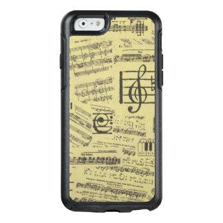 De Nota van de muziek & Symbool Otterbox Iphone