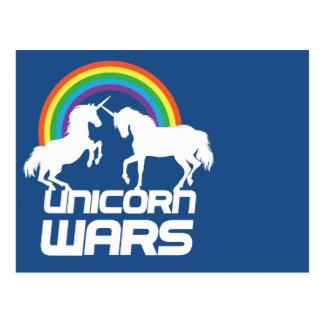 De Oorlogen van de eenhoorn met Regenboog Briefkaart