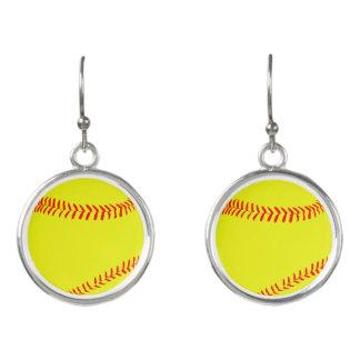 De Oorringen van het softball