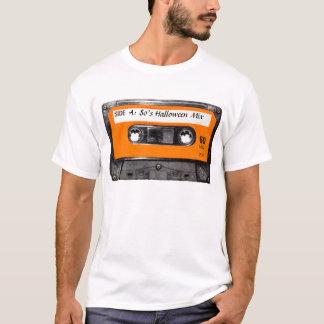 De oranje Cassette van de jaren '80 van het Etiket T Shirt