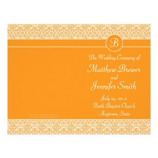 De oranje Orde van het Huwelijk van het Programma