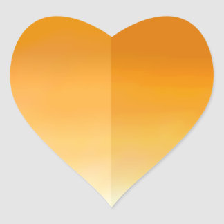 De oranje Sticker van het Bloemblaadje van het