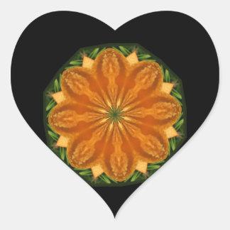 De oranje Stickers van de Verbrijzeling