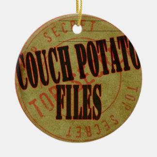 De Ornamenten van Kerstmis van de Dossiers van de