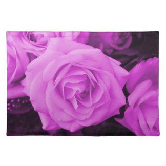 De paarse roze ervaring onderlegger