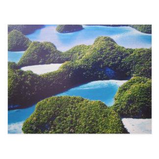 De Pacifique-Palau carte postale