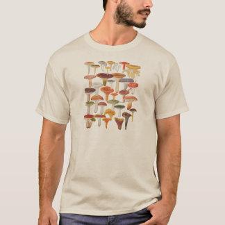 De Paddestoelen van de Champignons van Les T Shirt