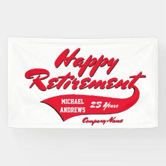 De Partij van de pensionering personaliseert Spandoek